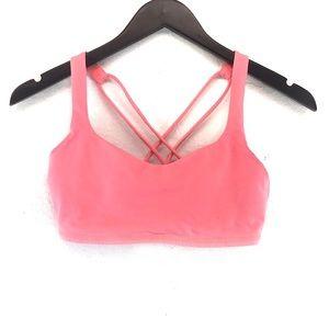 Lululemon Free To Be Hot Pink Sports Bra